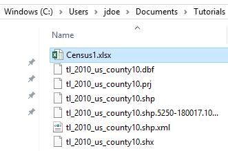 Census data