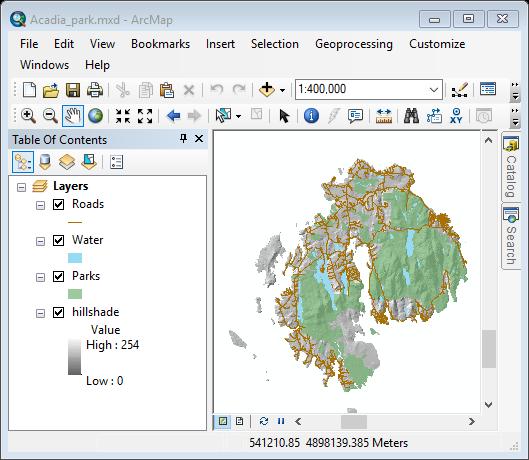 Managing GIS data